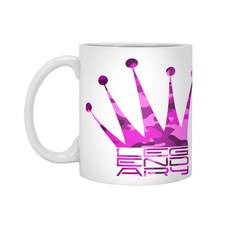 Legendary Crown - Pink Camo Edition Accessories Standard Mug by uniquego's Artist Shop
