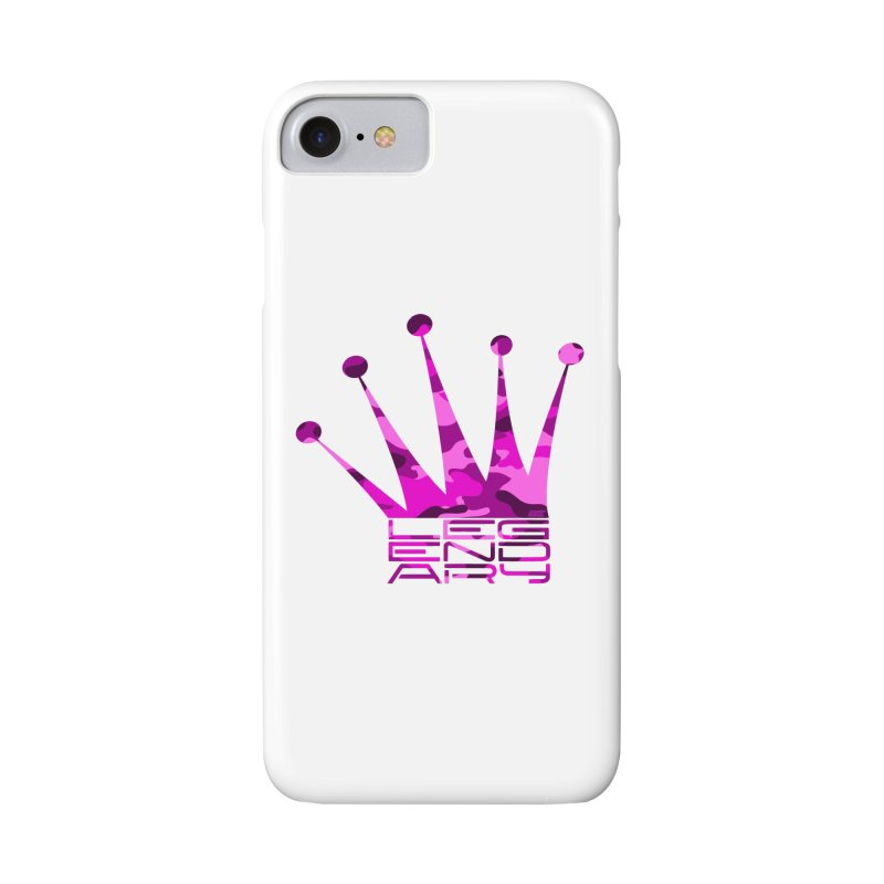 Legendary Crown - Pink Camo Edition Accessories Phone Case by uniquego's Artist Shop
