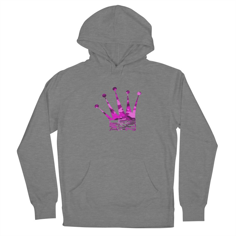 Legendary Crown - Pink Camo Edition Women's Pullover Hoody by uniquego's Artist Shop