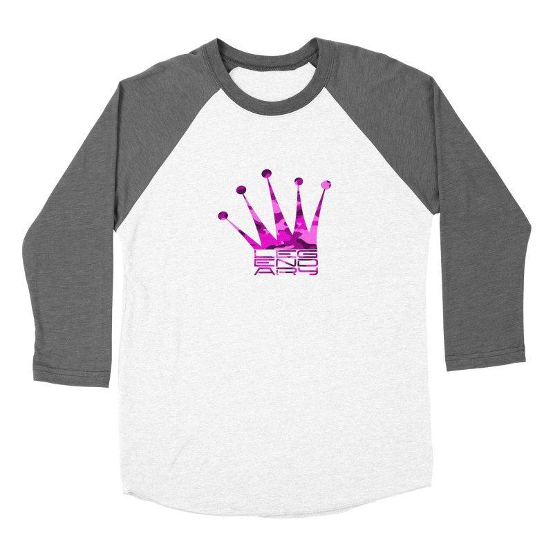 Legendary Crown - Pink Camo Edition Women's Longsleeve T-Shirt by uniquego's Artist Shop