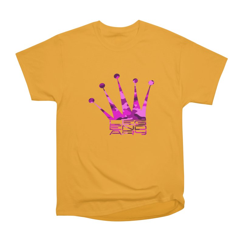 Legendary Crown - Pink Camo Edition Men's Heavyweight T-Shirt by uniquego's Artist Shop