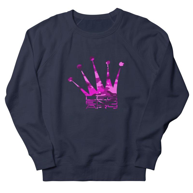 Legendary Crown - Pink Camo Edition Men's Sweatshirt by uniquego's Artist Shop