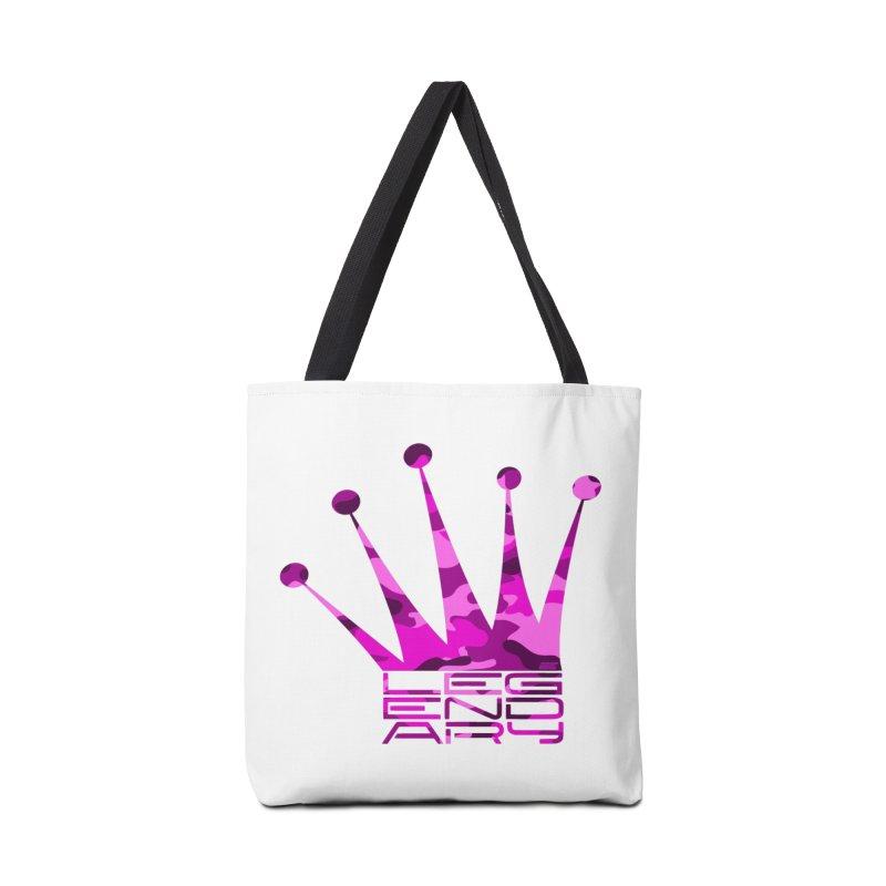 Legendary Crown - Pink Camo Edition Accessories Bag by uniquego's Artist Shop