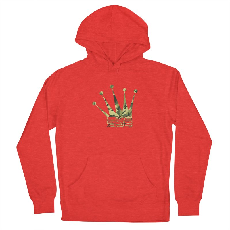 Legendary Crown - Camo Edition Women's Pullover Hoody by uniquego's Artist Shop