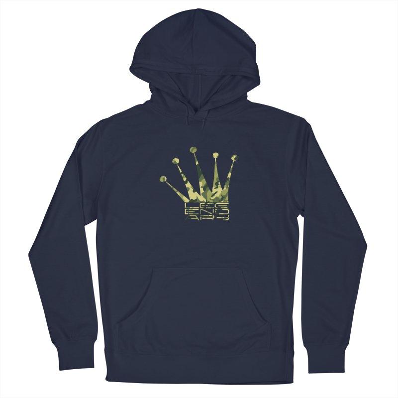 Legendary Crown - Camo Edition Men's Pullover Hoody by uniquego's Artist Shop