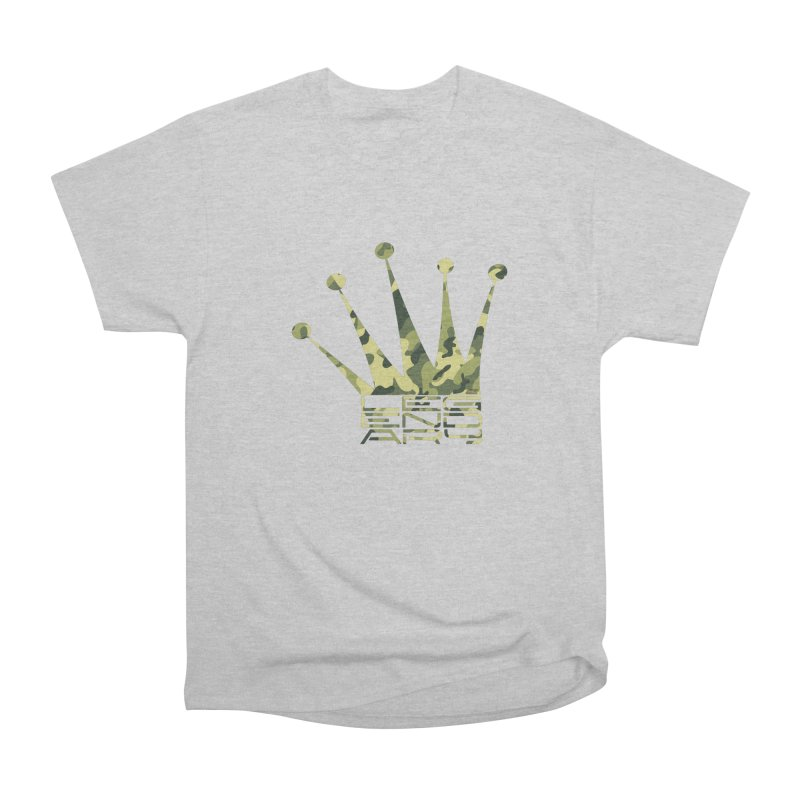 Legendary Crown - Camo Edition Women's Heavyweight Unisex T-Shirt by uniquego's Artist Shop