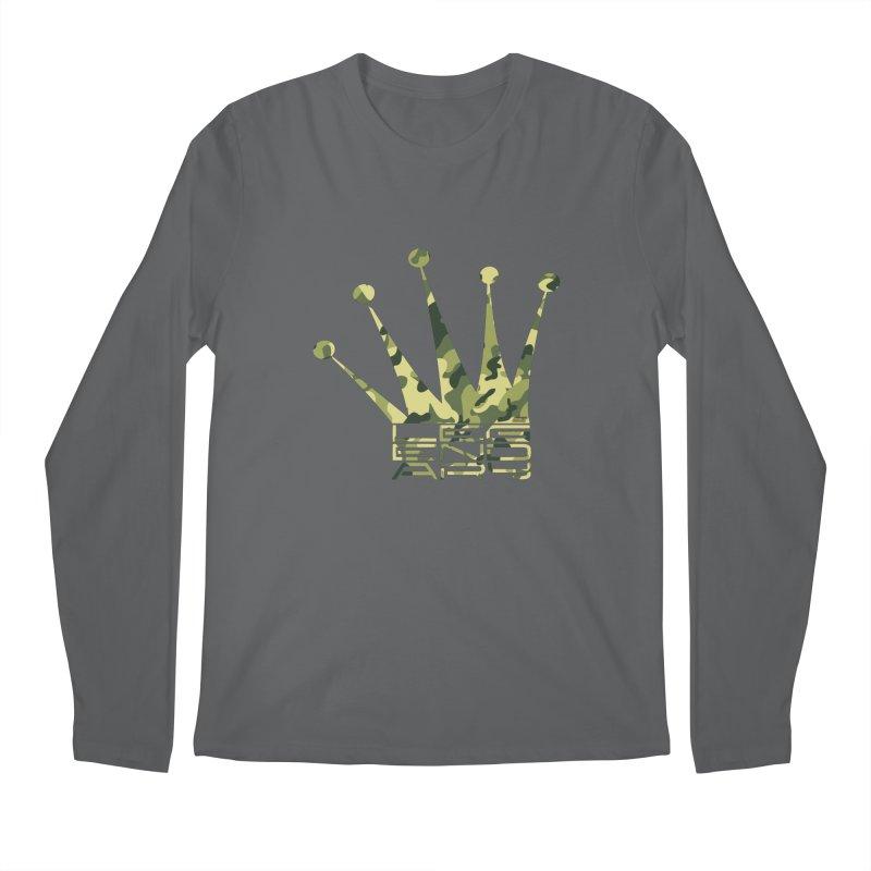 Legendary Crown - Camo Edition Men's Longsleeve T-Shirt by uniquego's Artist Shop