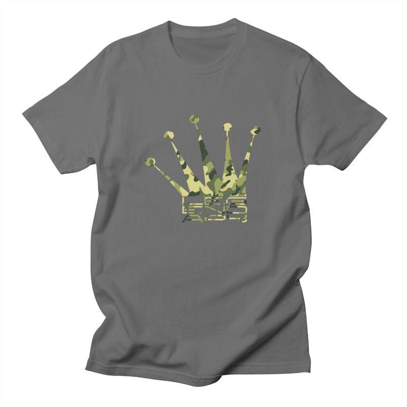 Legendary Crown - Camo Edition Men's T-Shirt by uniquego's Artist Shop