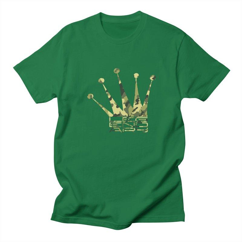 Legendary Crown - Camo Edition Women's Regular Unisex T-Shirt by uniquego's Artist Shop