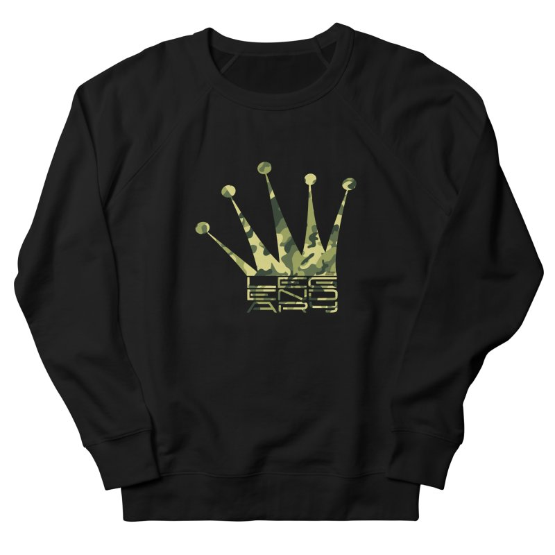 Legendary Crown - Camo Edition Women's French Terry Sweatshirt by uniquego's Artist Shop