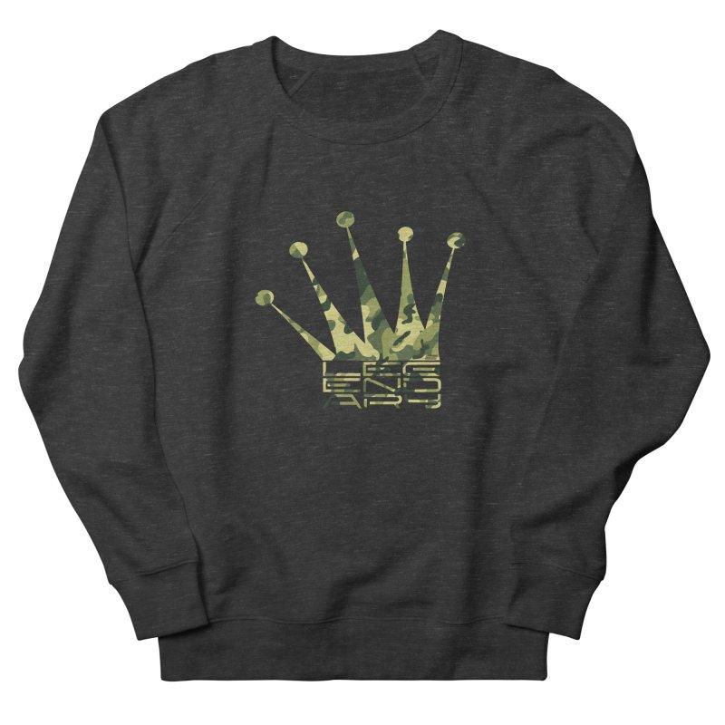 Legendary Crown - Camo Edition Men's Sweatshirt by uniquego's Artist Shop