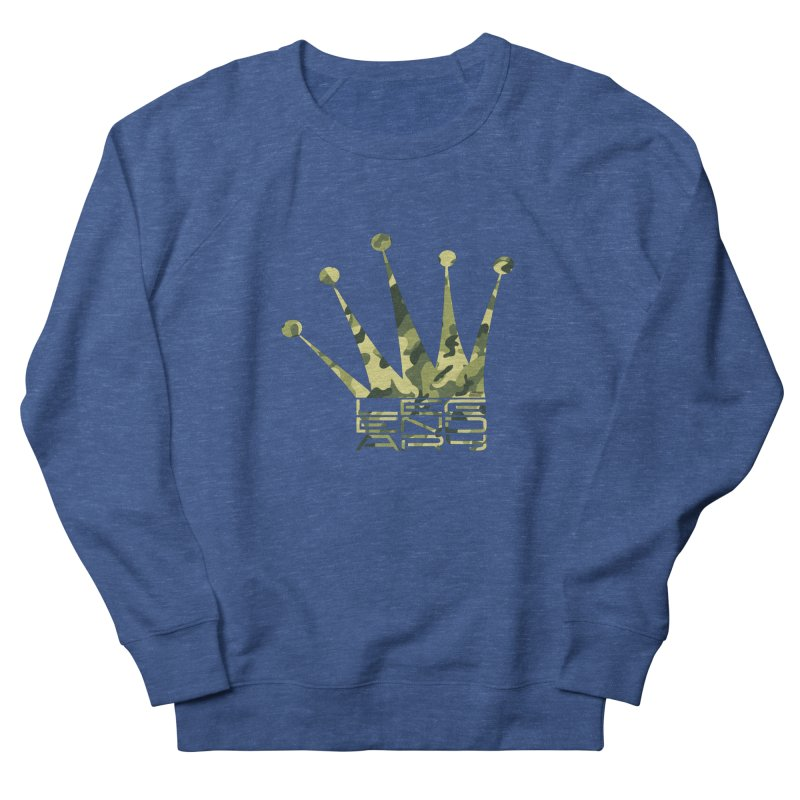 Legendary Crown - Camo Edition Men's French Terry Sweatshirt by uniquego's Artist Shop