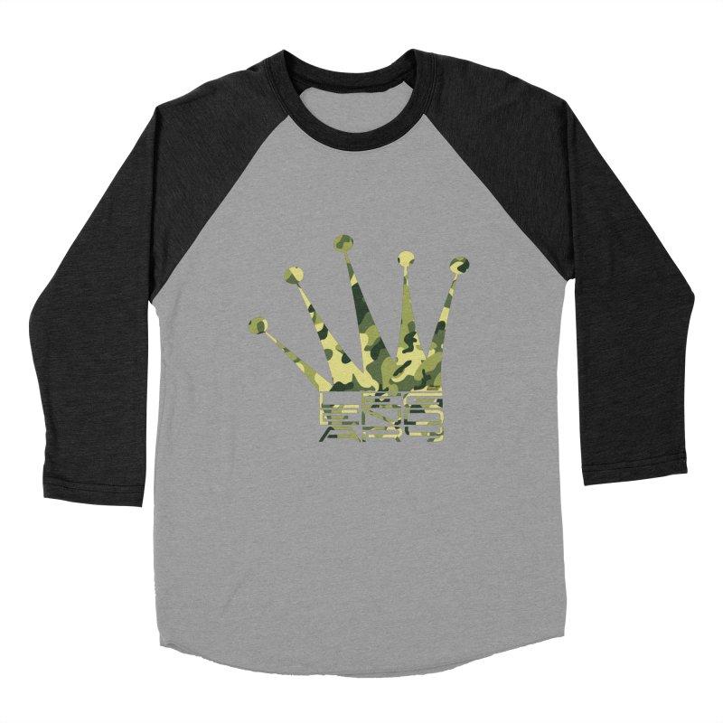 Legendary Crown - Camo Edition Women's Baseball Triblend Longsleeve T-Shirt by uniquego's Artist Shop