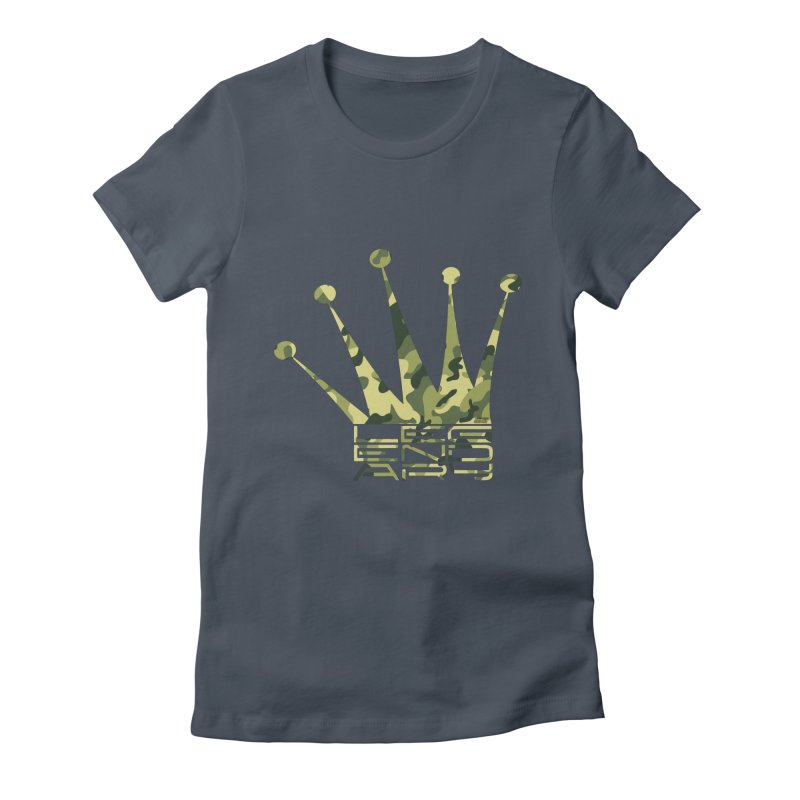 Legendary Crown - Camo Edition Women's T-Shirt by uniquego's Artist Shop