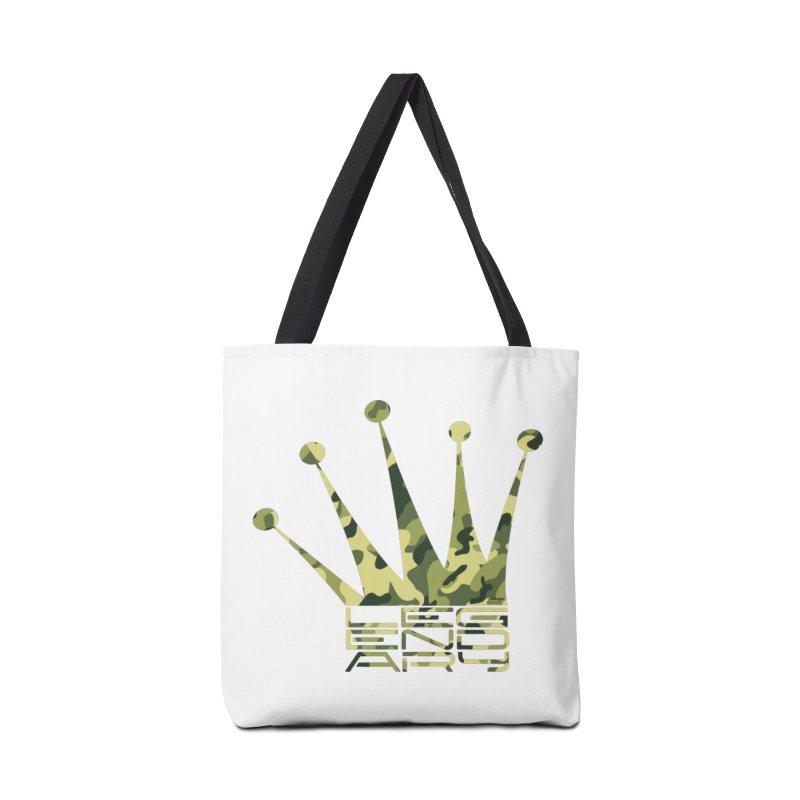 Legendary Crown - Camo Edition Accessories Tote Bag Bag by uniquego's Artist Shop