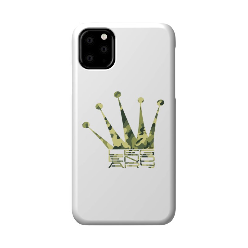 Legendary Crown - Camo Edition Accessories Phone Case by uniquego's Artist Shop