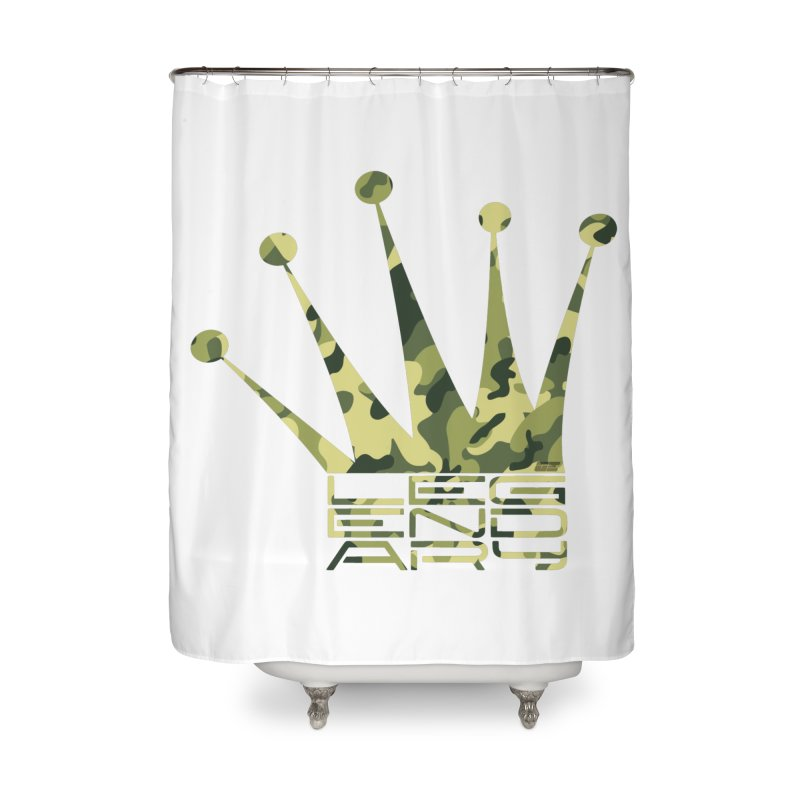 Legendary Crown - Camo Edition Home Shower Curtain by uniquego's Artist Shop