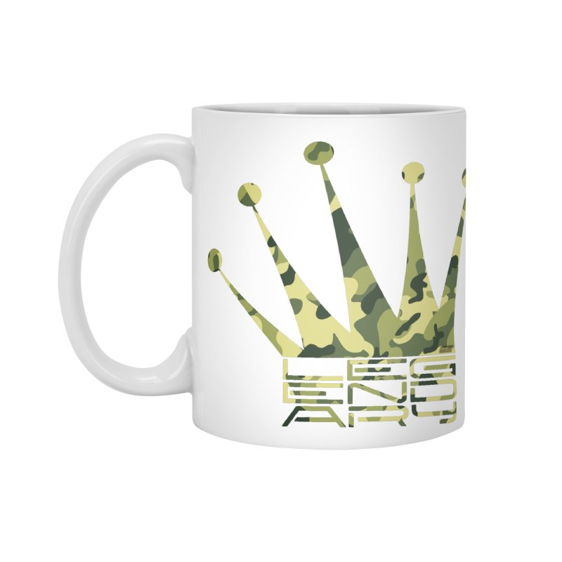 Legendary Crown - Camo Edition Accessories Standard Mug by uniquego's Artist Shop