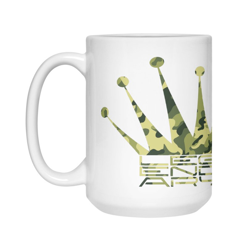 Legendary Crown - Camo Edition Accessories Mug by uniquego's Artist Shop
