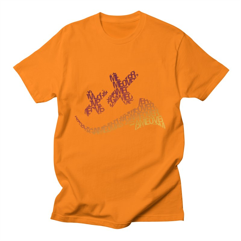 #GameOver Men's T-Shirt by uniquego's Artist Shop