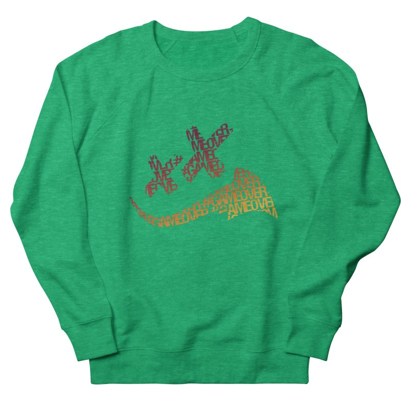#GameOver Men's French Terry Sweatshirt by uniquego's Artist Shop