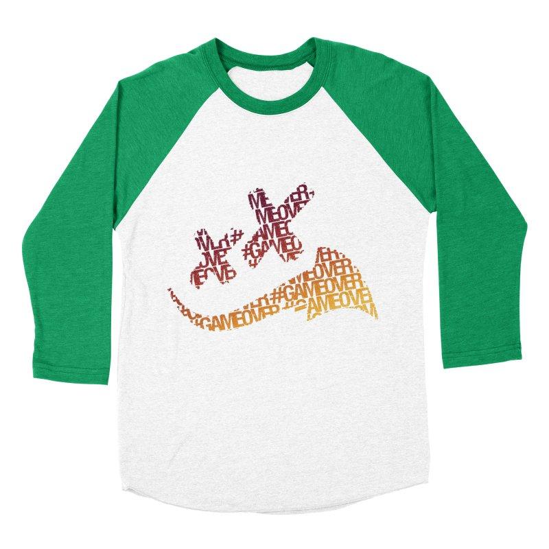 #GameOver Women's Baseball Triblend Longsleeve T-Shirt by uniquego's Artist Shop