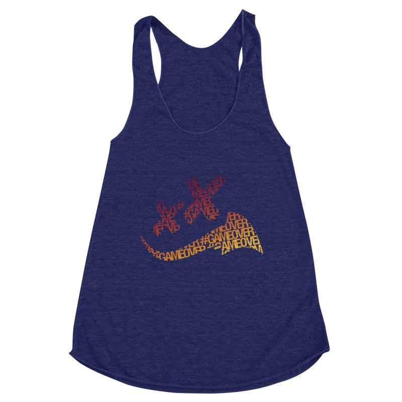 #GameOver Women's Racerback Triblend Tank by uniquego's Artist Shop