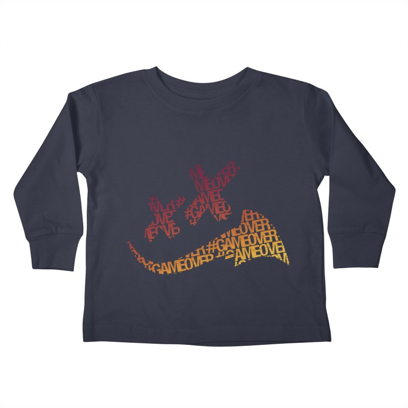 #GameOver Kids Toddler Longsleeve T-Shirt by uniquego's Artist Shop