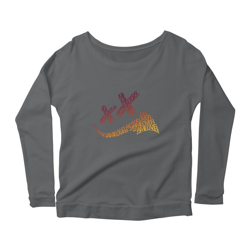 #GameOver Women's Longsleeve T-Shirt by uniquego's Artist Shop
