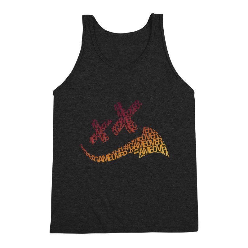 #GameOver Men's Triblend Tank by uniquego's Artist Shop
