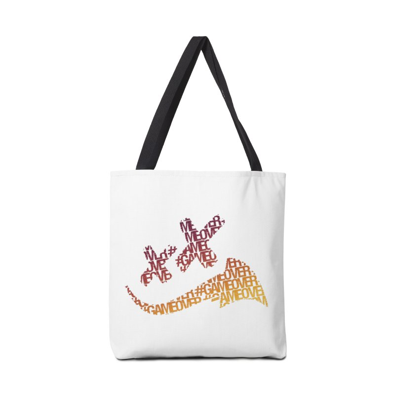 #GameOver Accessories Tote Bag Bag by uniquego's Artist Shop