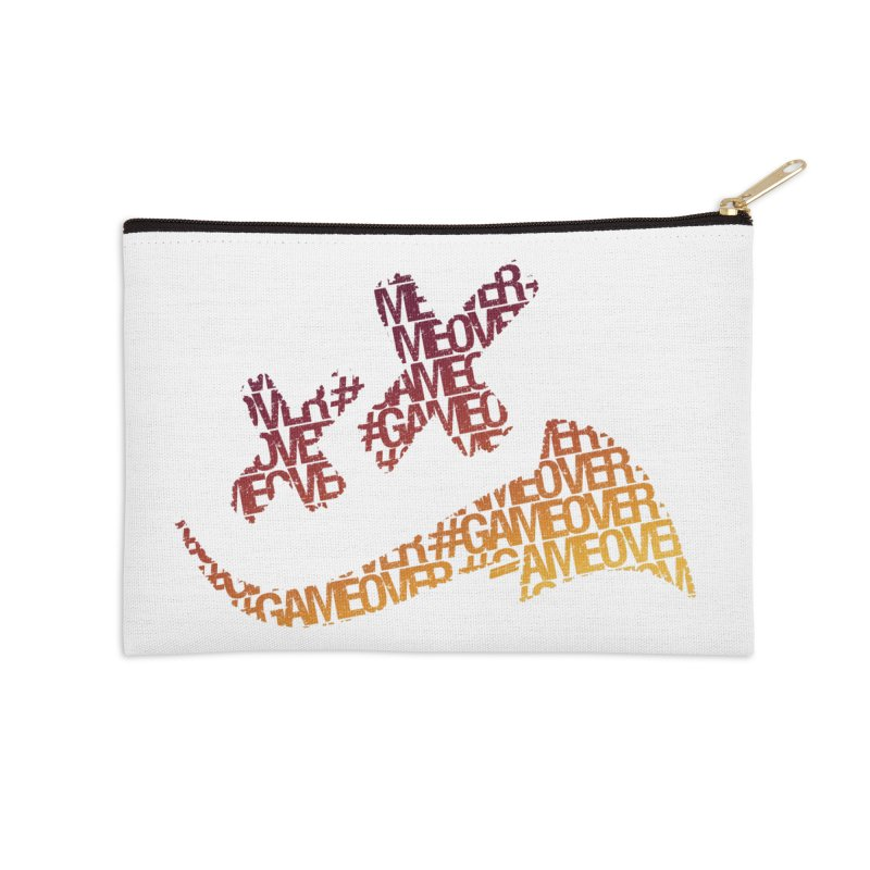 #GameOver Accessories Zip Pouch by uniquego's Artist Shop