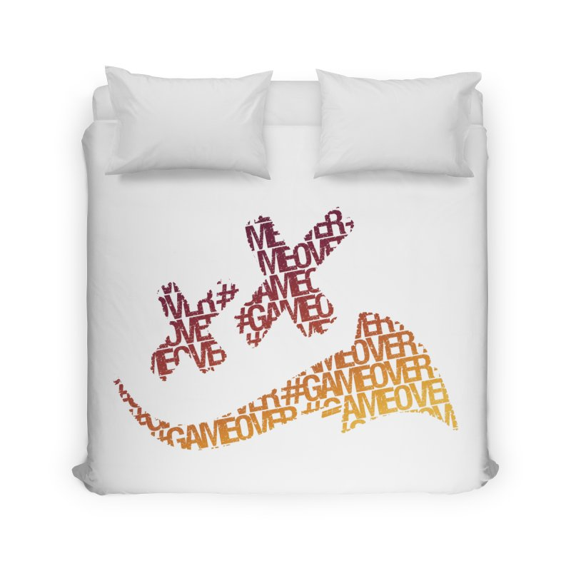 #GameOver Home Duvet by uniquego's Artist Shop