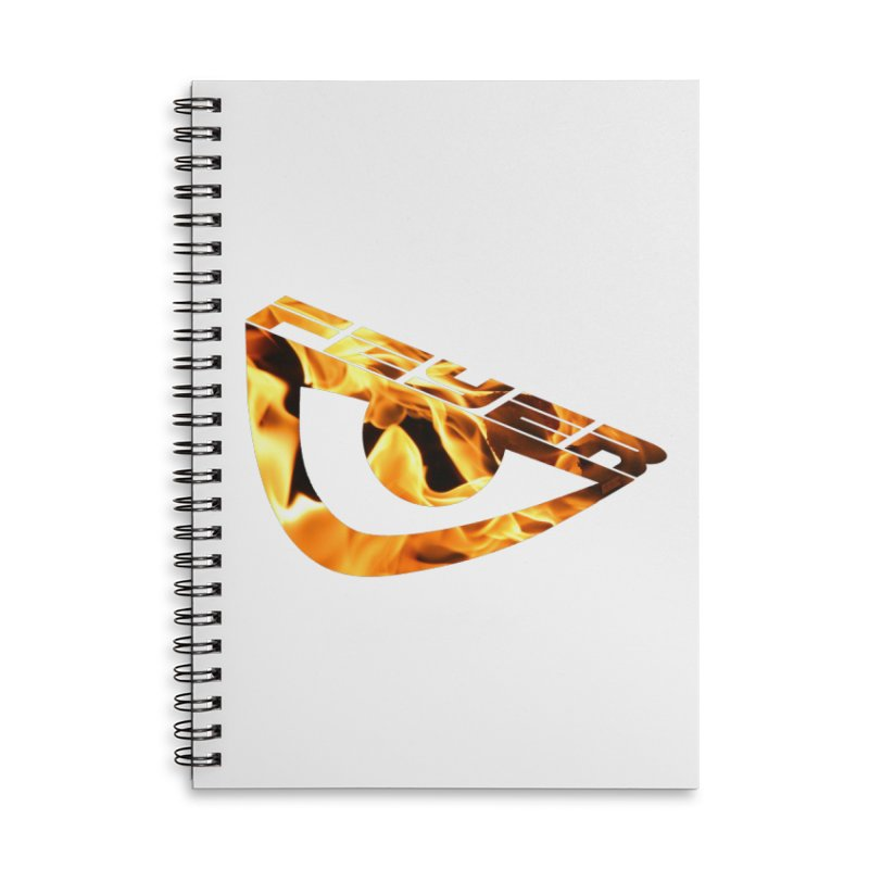 Feyer Accessories Lined Spiral Notebook by uniquego's Artist Shop