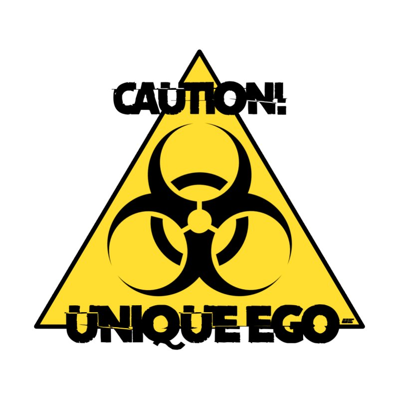 Caution! Unique Ego - The Biohazard Edition Kids T-Shirt by uniquego's Artist Shop