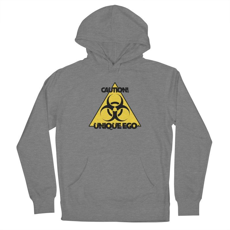 Caution! Unique Ego - The Biohazard Edition Women's Pullover Hoody by uniquego's Artist Shop