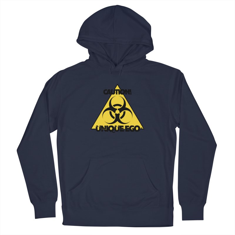 Caution! Unique Ego - The Biohazard Edition Men's Pullover Hoody by uniquego's Artist Shop