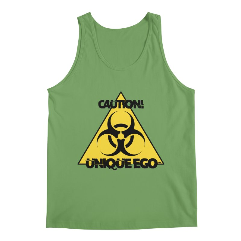 Caution! Unique Ego - The Biohazard Edition Men's Tank by uniquego's Artist Shop