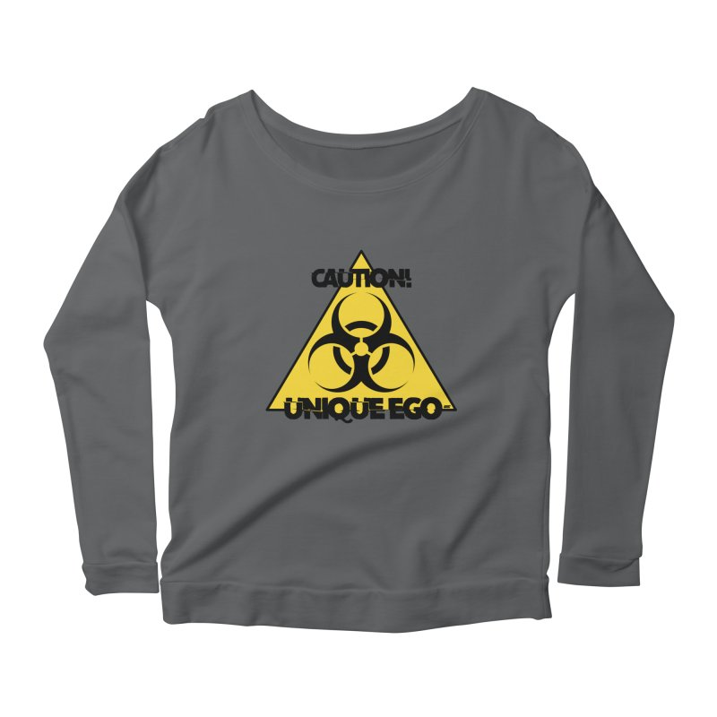 Caution! Unique Ego - The Biohazard Edition Women's Longsleeve T-Shirt by uniquego's Artist Shop