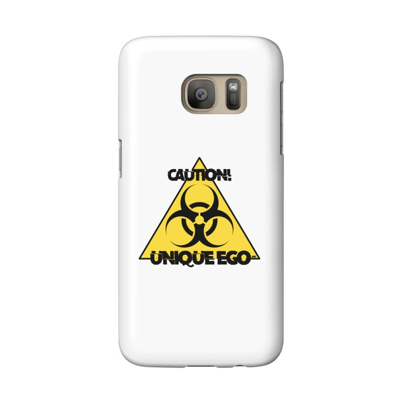 Caution! Unique Ego - The Biohazard Edition Accessories Phone Case by uniquego's Artist Shop