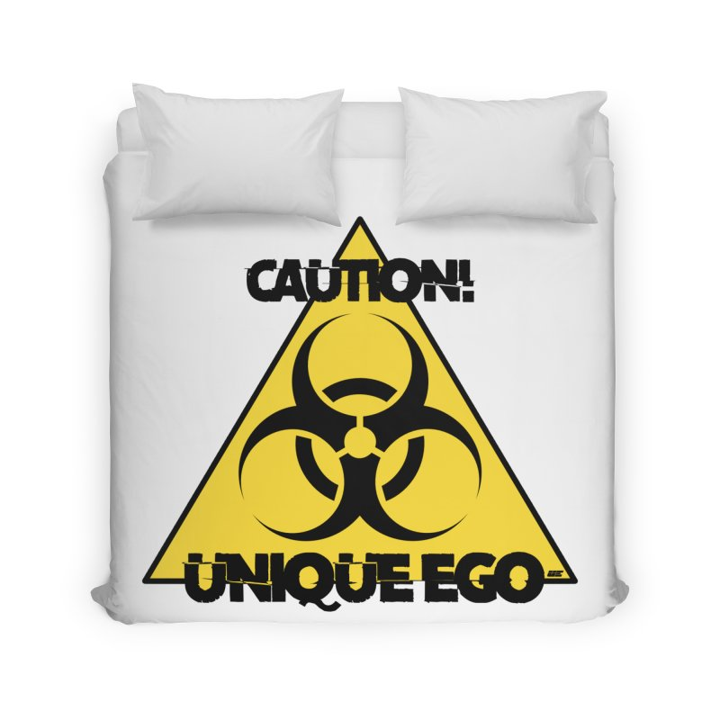Caution! Unique Ego - The Biohazard Edition Home Duvet by uniquego's Artist Shop
