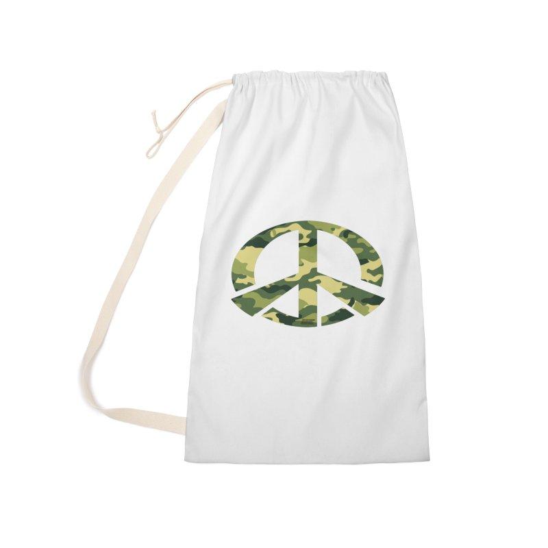 Peace - Camo Edition Accessories Bag by uniquego's Artist Shop