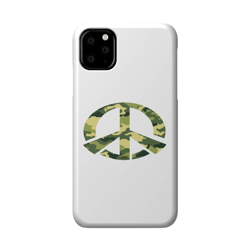 Peace - Camo Edition Accessories Phone Case by uniquego's Artist Shop