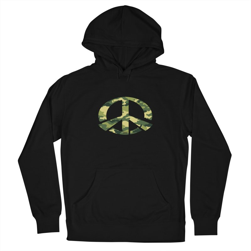 Peace - Camo Edition Men's Pullover Hoody by uniquego's Artist Shop