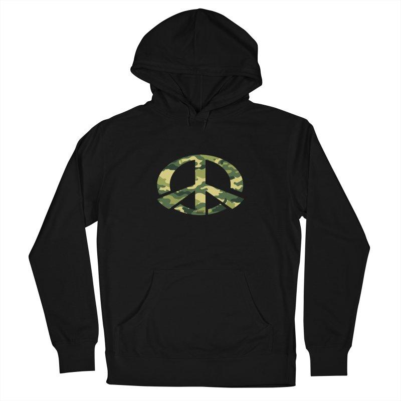 Peace - Camo Edition Women's Pullover Hoody by uniquego's Artist Shop