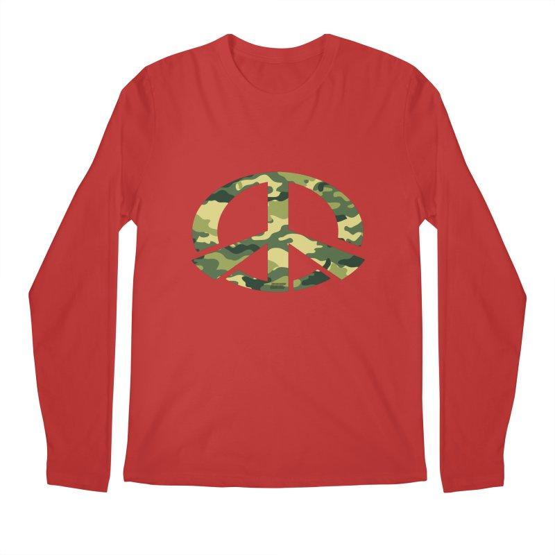 Peace - Camo Edition Men's Longsleeve T-Shirt by uniquego's Artist Shop