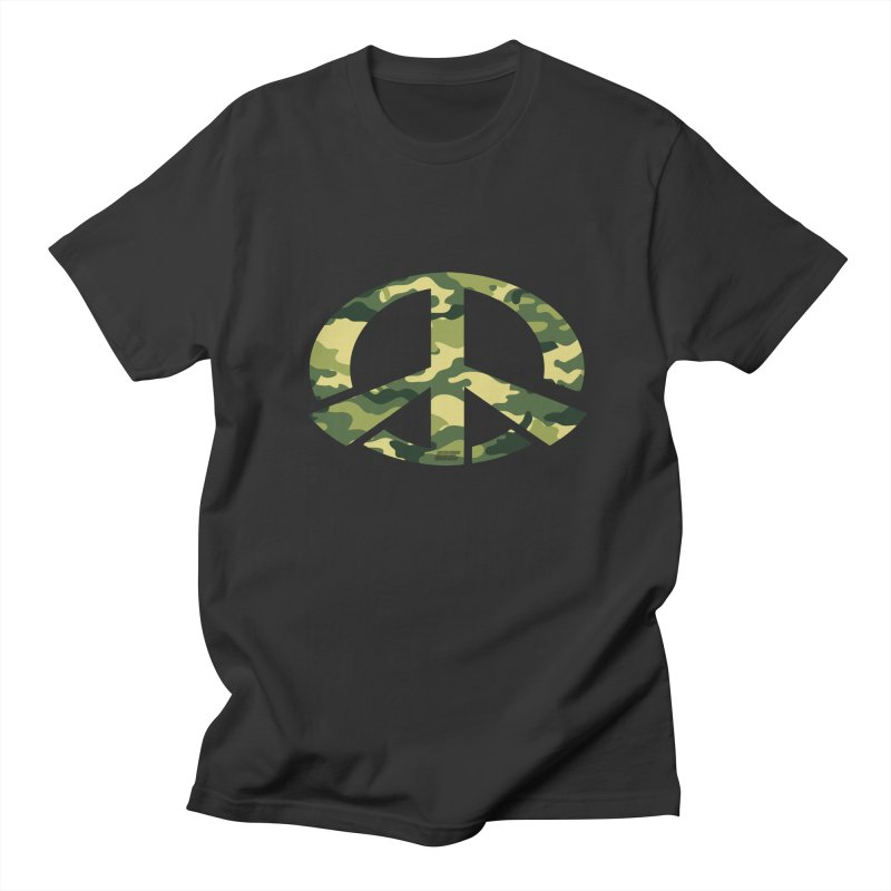 Peace - Camo Edition Women's Regular Unisex T-Shirt by uniquego's Artist Shop