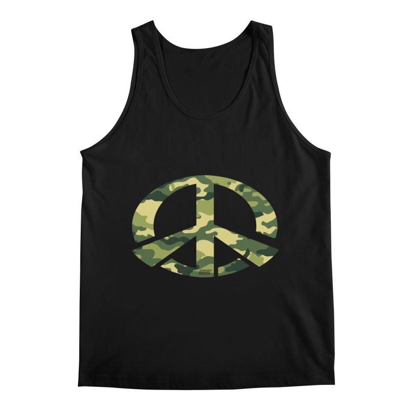 Peace - Camo Edition Men's Tank by uniquego's Artist Shop
