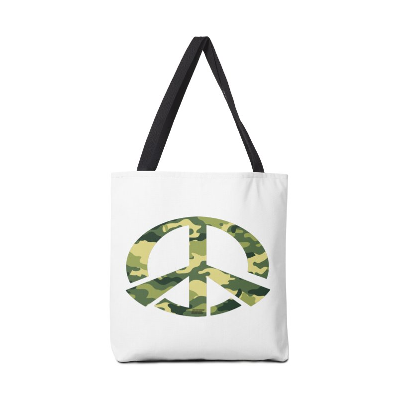 Peace - Camo Edition Accessories Tote Bag Bag by uniquego's Artist Shop