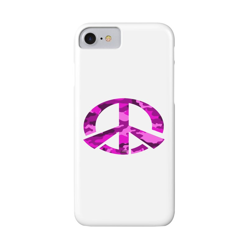 Peace - Pink Camo Edition Accessories Phone Case by uniquego's Artist Shop